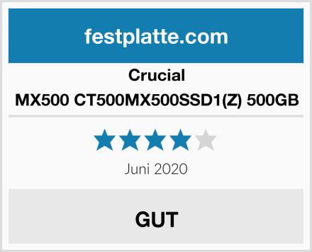 Crucial MX500 CT500MX500SSD1(Z) 500GB Test