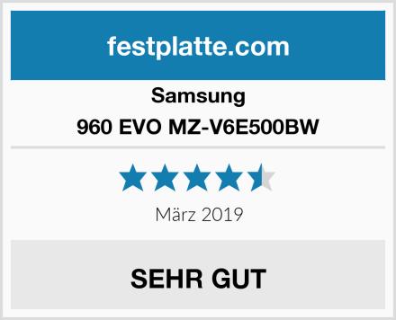 Samsung 960 EVO MZ-V6E500BW Test
