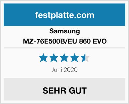 Samsung MZ-76E500B/EU 860 EVO Test