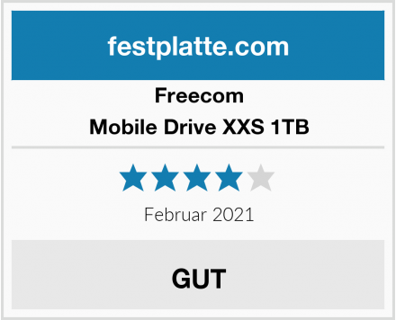 Freecom Mobile Drive XXS 1TB Test