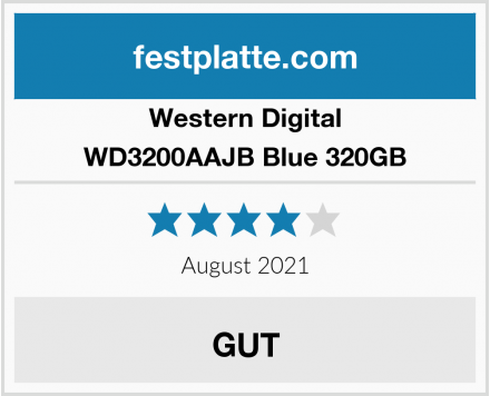 Western Digital WD3200AAJB Blue 320GB Test