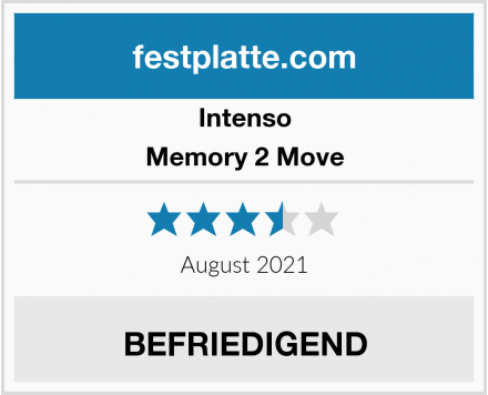 Intenso Memory 2 Move Test