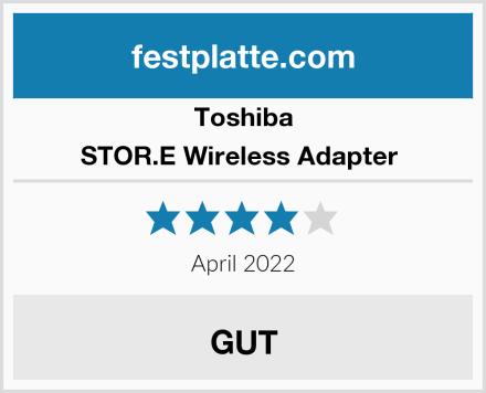 Toshiba STOR.E Wireless Adapter  Test