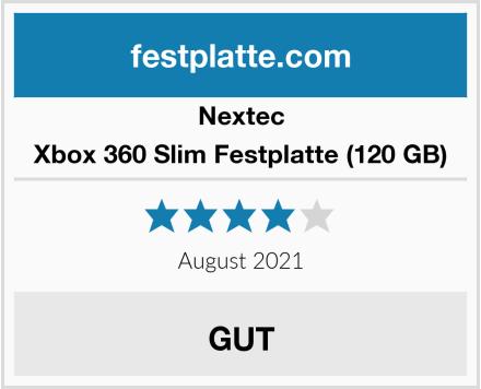 Nextec Xbox 360 Slim Festplatte (120 GB) Test