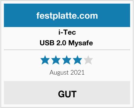 I-Tec USB 2.0 Mysafe  Test