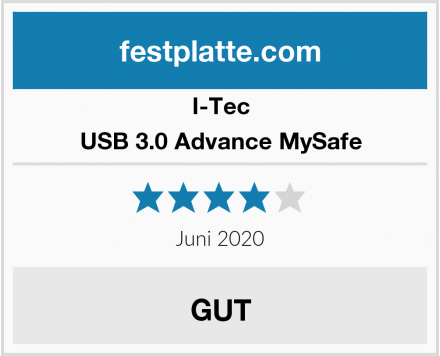 I-Tec USB 3.0 Advance MySafe Test