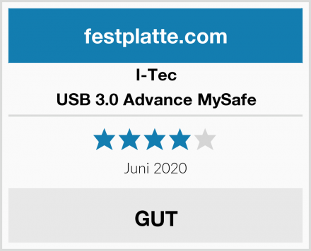 I-Tec USB 3.0 Advance MySafe Test