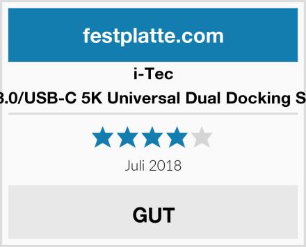 I-Tec USB 3.0/USB-C 5K Universal Dual Docking Station Test