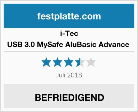 I-Tec USB 3.0 MySafe AluBasic Advance  Test