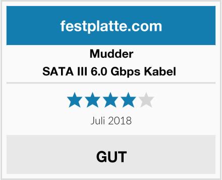 Mudder SATA III 6.0 Gbps Kabel  Test