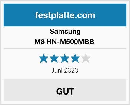 Samsung M8 HN-M500MBB  Test