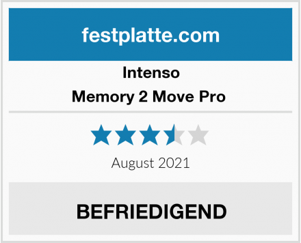 Intenso Memory 2 Move Pro  Test