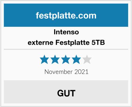 Intenso externe Festplatte 5TB Test