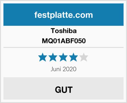 Toshiba MQ01ABF050 Test