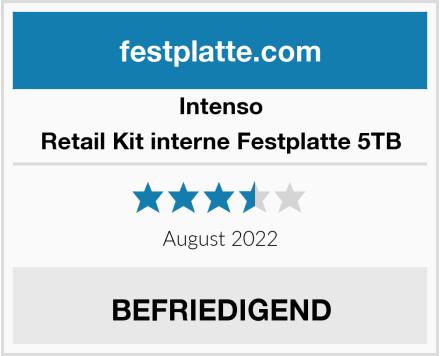 Intenso Retail Kit interne Festplatte 5TB Test
