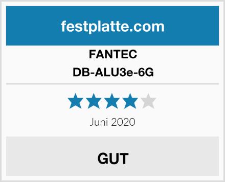 FANTEC DB-ALU3e-6G Test