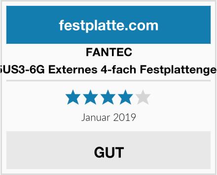 FANTEC QB-35US3-6G Externes 4-fach Festplattengehäuse Test