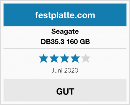 Seagate DB35.3 160 GB Test