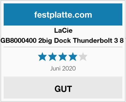 LaCie STGB8000400 2big Dock Thunderbolt 3 8 TB Test