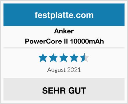 Anker PowerCore II 10000mAh Test