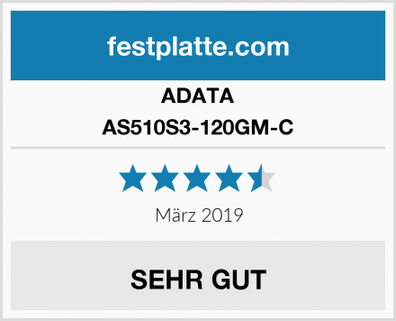 ADATA AS510S3-120GM-C Test