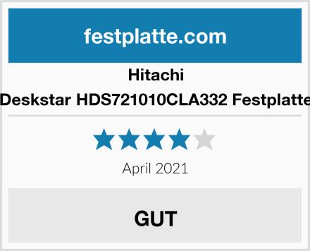 Hitachi Deskstar HDS721010CLA332 Festplatte Test