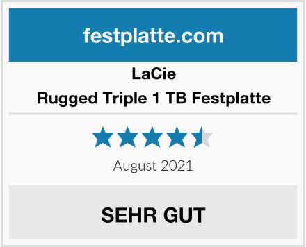 LaCie Rugged Triple 1 TB Festplatte Test