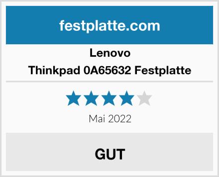 Lenovo Thinkpad 0A65632 Festplatte Test