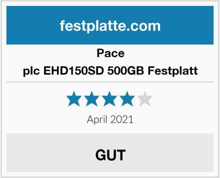 Pace plc EHD150SD 500GB Festplatt Test