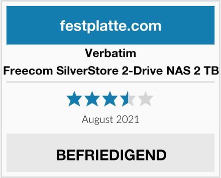 Verbatim Freecom SilverStore 2-Drive NAS 2 TB Test