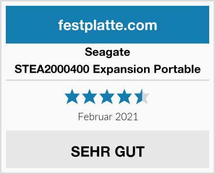 Seagate STEA2000400 Expansion Portable Test