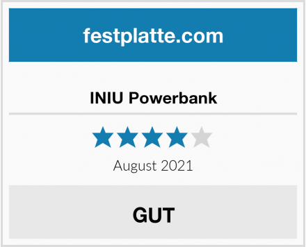 INIU Powerbank Test