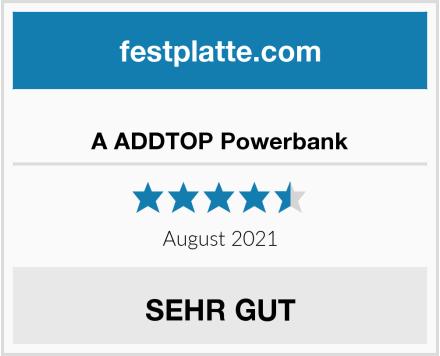 A ADDTOP Powerbank Test