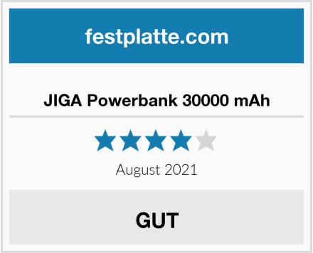 JIGA Powerbank 30000 mAh Test