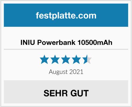 INIU Powerbank 10500mAh Test