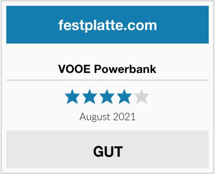 VOOE Powerbank Test