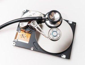 Pflege und Reinigung von Festplatten
