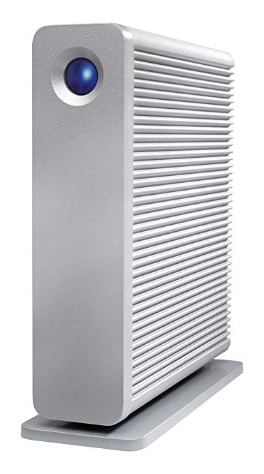 LaCie LAC9000258EK d2 Quadra 4 TB
