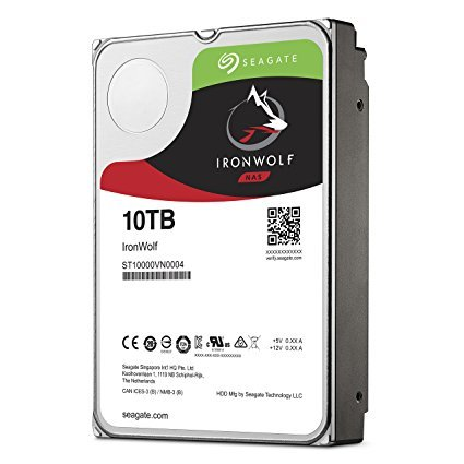 Seagate ST10000VN004 IronWolf 10 TB