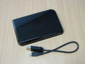 Stromverbrauch von externen Festplatten
