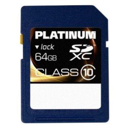 Platinum Class 10 SDXC 64 GB Speicherkarte