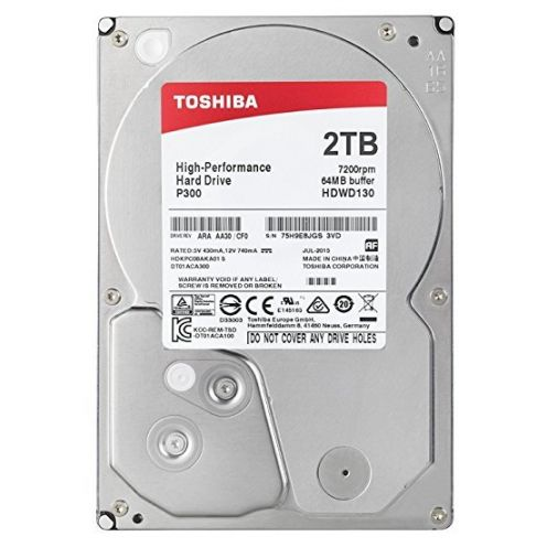 Toshiba P300 Interne Festplatte 2 TB