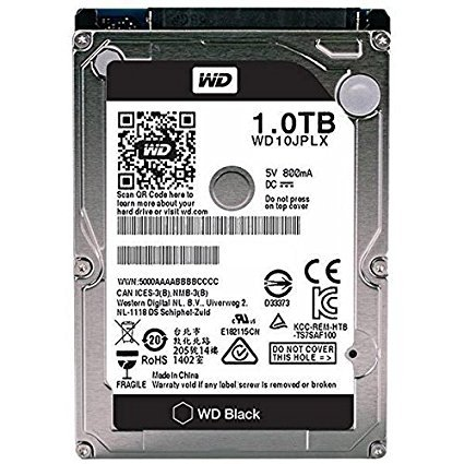 Western Digital Black Mobile 1 TB