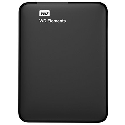 Western Digital Elements Portable WDBUZG0010BBK-WESN